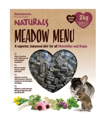 Rosewood naturals meadow menu chinchilla / degu