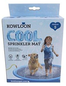 Kowloon cool sprinkler mat blauw