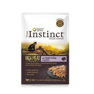 True instinct high in meat pouch adult turkey fillets